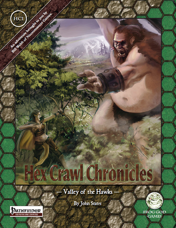 Hex Crawl Chronicles 2 The Winter Woods