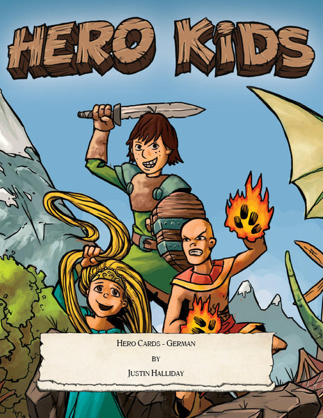 Hero Kids - Supplement - Hero Cards (German)