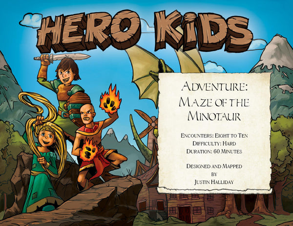 Hero Kids - Premium Adventure - Maze of the Minotaur