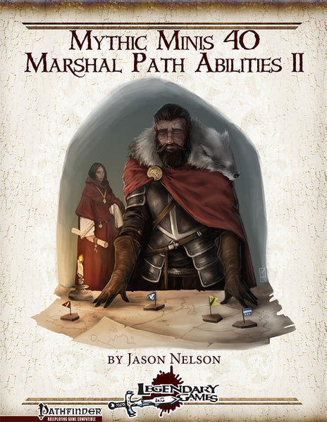 Mythic Minis 40: Marshal Path Abilities II