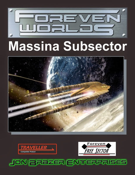Foreven Worlds: Massina Subsector (Traveller)