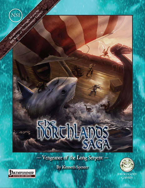The Northlands Saga 1 - Vengeance of the Long Serpent (PFRPG)
