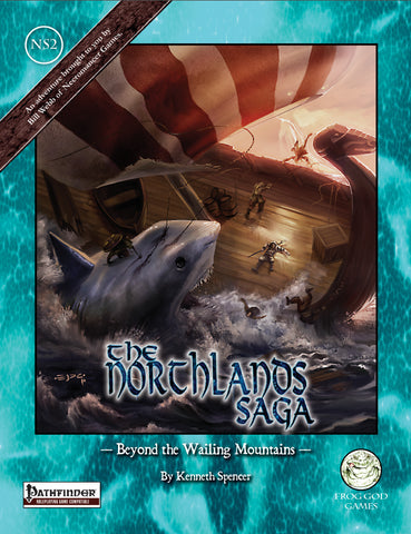 The Northlands Saga 2 - Beyond the Wailing Mountains