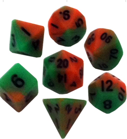 Mini Polyhedral Dice Set