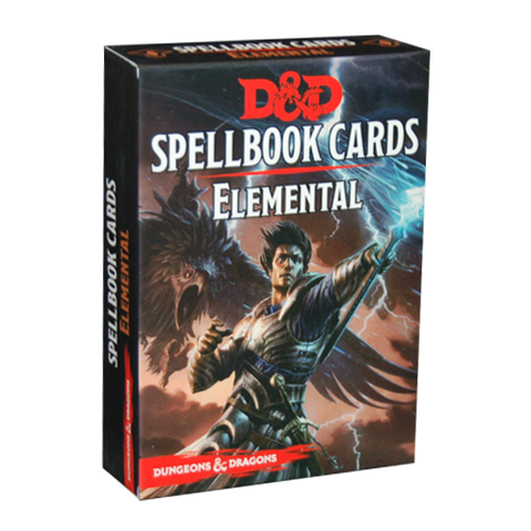 D&D SpellBook Cards - Elemental Spell Cards (43 Cards)