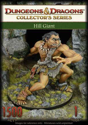 D&D Collector Series Miniatures - Hill Giant