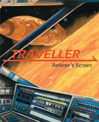 Traveller RPG - Referee's Screen