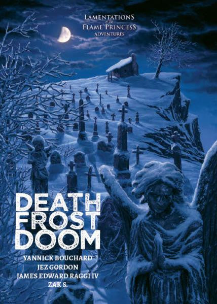 Lamentations of the Flame Princess: Death Frost Doom (Hardcover)