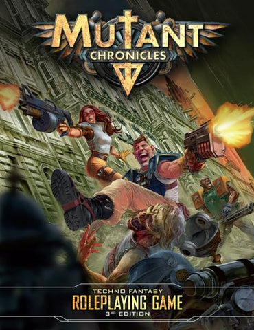 Mutant Chronicles RPG: 3rd Edition Rulebook (Color, Hardcover)
