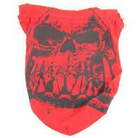 Orc Skull Dice Bag (Extra Large, Red)