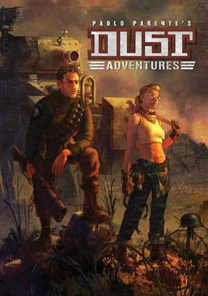 DUST Adventures RPG: Core Rulebook (Hardcover)