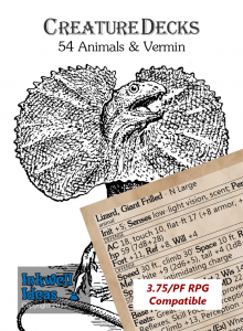 Inkwell Ideas: Creature Decks - Animals & Vermin