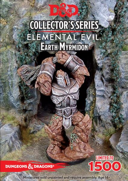 D&D Collector Series Miniatures - Elemental Evil: Earth Myrmidon
