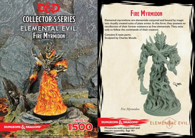 D&D Collector Series Miniatures - Elemental Evil: Fire Myrmidon