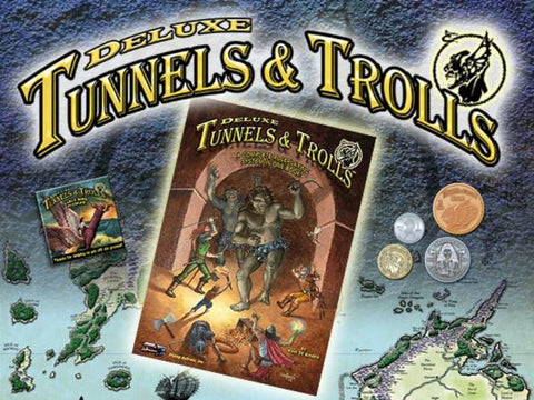 Tunnels & Trolls RPG: Deluxe Edition
