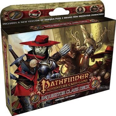 Pathfinder Adventure Card Game - Inquisitor Class Deck