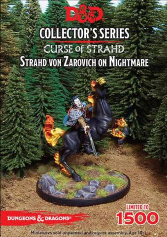 D&D Collector Series Miniatures - Strahd on Nightmare