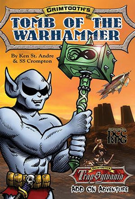 Grimtooth's Tomb Of The Warhammer (Digest Size DCC Adventure)