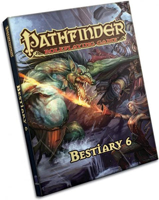 Pathfinder 1e: Bestiary 6 (Hard Cover)