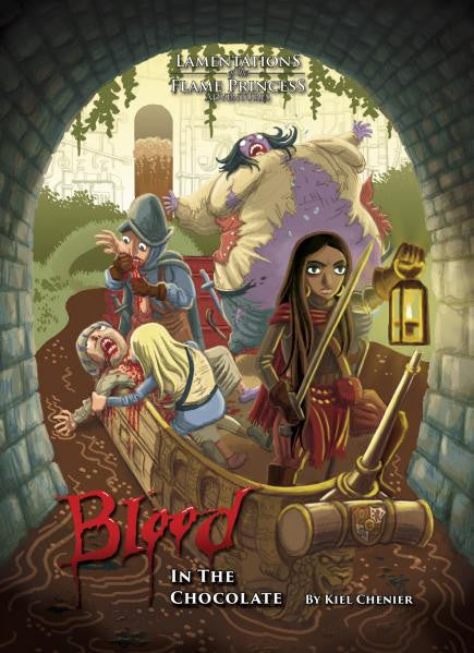 Lamentations of the Flame Princess RPG: Blood In The Chocolate (HC)