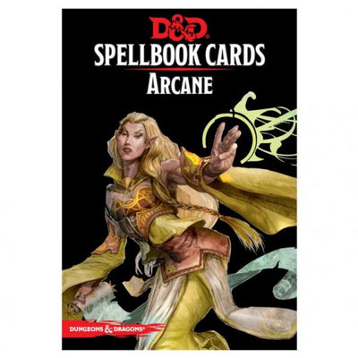 Dungeons & Dragons 5th Edition RPG: Arcane Spellbook Deck (253 Cards)