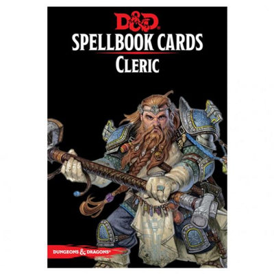 Dungeons & Dragons 5th Edition RPG: Cleric Spellbook Deck (149 Cards)