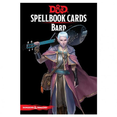 Dungeons & Dragons 5th Edition RPG: Bard Spellbook Deck (110 Cards)