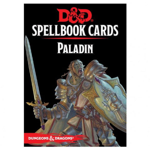 Dungeons & Dragons 5th Edition RPG: Paladin Spellbook Deck (69 Cards)