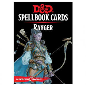 Dungeons & Dragons 5th Edition RPG: Ranger Spellbook Deck (46 Cards)