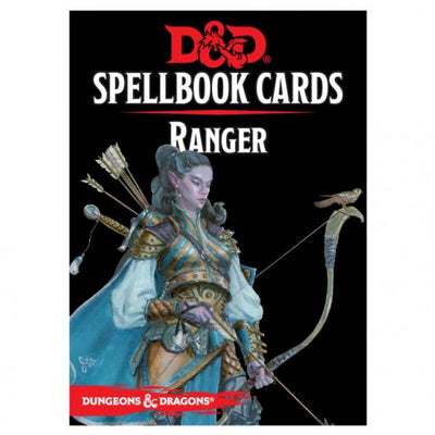 D&D: Spellbook Cards: Ranger Deck (46 Cards)