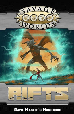 Savage Worlds RPG: (Rifts) Game Master's Handbook (SC)