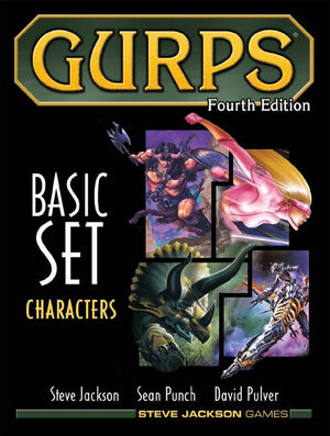 GURPS RPG - 4th Edition: Basic Set - Characters Hardcover