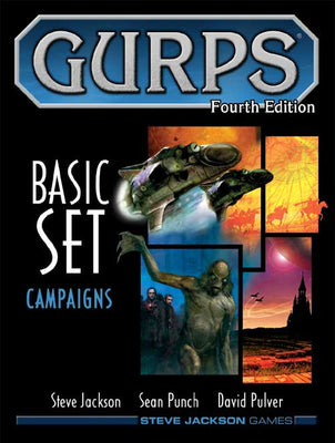 GURPS RPG - 4th Edition: Basic Set - Campaigns Hardcover