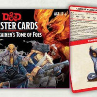 D&D: Mordenkainen's Tome of Foes Card Deck (109 Cards)