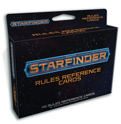 Starfinder RPG: Starfinder Rules Reference Cards Deck