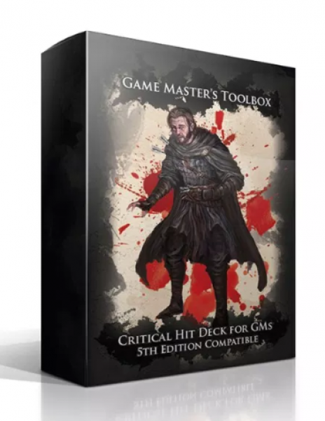 Critical Hit Deck for GMs (Dungeons & Dragons 5e)