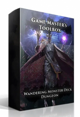 Wandering Monster Deck: Dungeon (Dungeons & Dragons 5e)