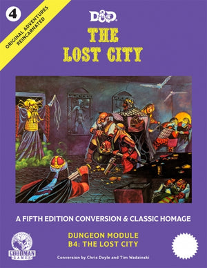 D&D 5th Edition: Original Adventures Reincarnated #4 - The Lost City