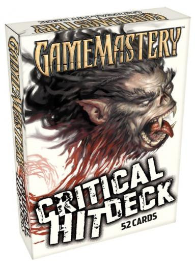 Critical Hit Deck (Pathfinder Cards)