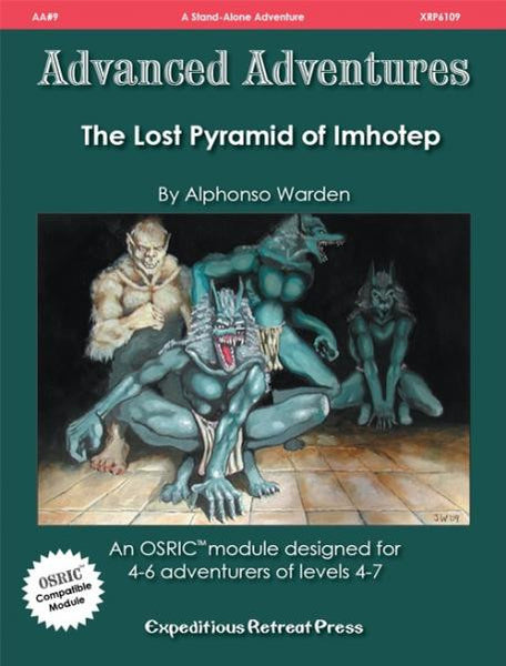 Advanced Adventures #9: The Lost Pyramid of Imhotep (OSRIC/ OGL/1E Adventure)