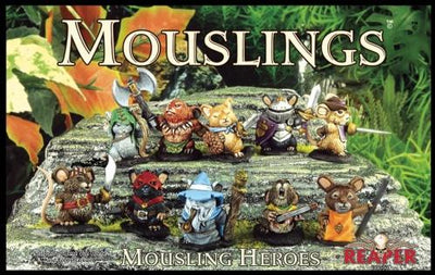 Miniatures Boxed Sets: Mouslings Heroes (10)