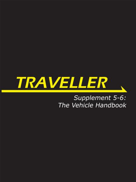 Supplement 5-6: The Vehicle Handbook (Traveller RPG)