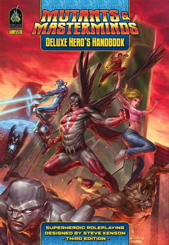 Mutants & Masterminds, 3rd Edition RPG: Deluxe Hero's Handbook