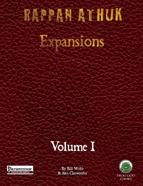 Rappan Athuk: Expansions Volume 1 (PDF Only)