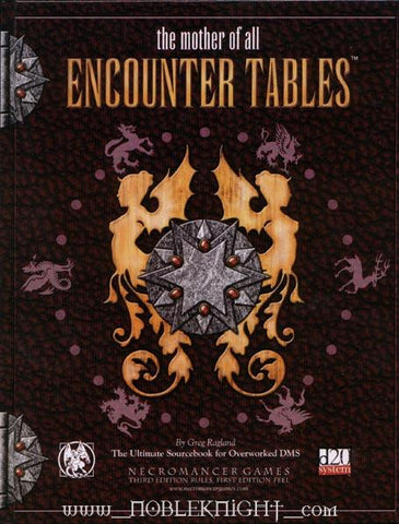 Mother of All Encounter Tables, The