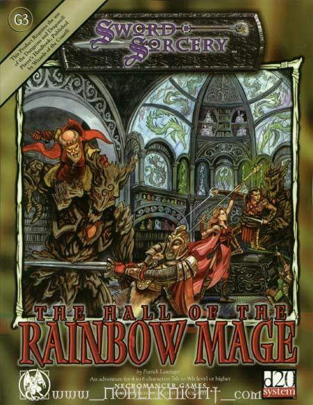 The Hall of the Rainbow Mage