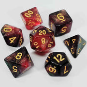Shimmering Blood Dice Set