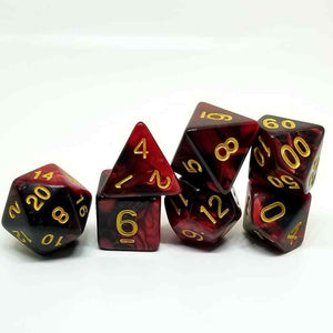 Blood Prince Dice Set