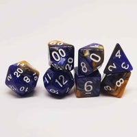 Golden Sky Dice Set