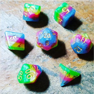 Prismatic Spray Polyhedral 7 Die Set